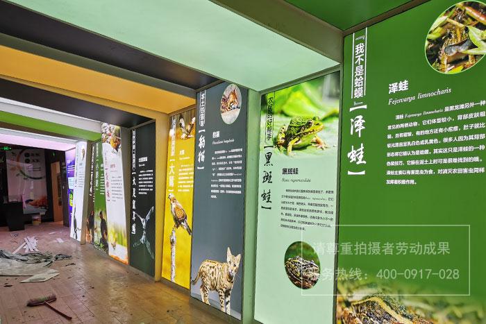 三江湖国家湿地公园宣教中心灯箱广告制作
